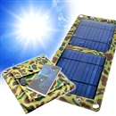 5V 7W Portable Folding Solar Panel Battery Charger USB Output Charge Controller