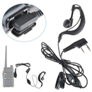 Mic Headset Earpiece Earphone 2 Pin for Baofeng Walkie Takie Radio UV 5R BF 888s