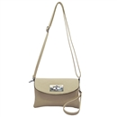 khaki Ustyle ladies Rotary button Shoulder bag Satchel Messenger Tote Handbags