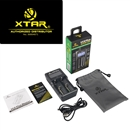 XTAR VC2 Plus LED USB battery charger ( AA / AAA / C / D / 18650 / 26650 )