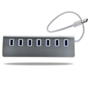 USB3.0 HUB Aluminum 7 Ports High Speed For Macbook Pro Mac PC Laptop 5Gbps