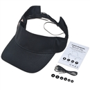 Baseball Hat Wireless Bluetooth Smart Cap Headphone Headset Speaker Mic SK-103 Black