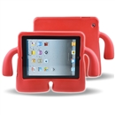 Foam Kids Shockproof Cartoon Cover Case for Tablet iPad2/3/4 big red