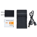 NP-BG1 Battery+Charger for SONY Cyber-Shot DSC-H10 H20 H50 H55 H70 H9 N2 H7  black