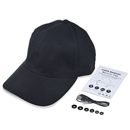 Baseball Hat Bluetooth Smart Cap Wireless Headset Headphone Speaker SK-H101B Balck