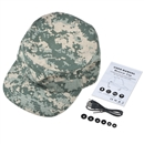 Wireless Bluetooth Cap Summer Outdoor Hat Wireless Earphones With Mic SK-108 Camo Green Squared 1