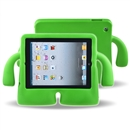 Foam Kids Shockproof Cartoon Cover Case for Tablet iPad2/3/4  green