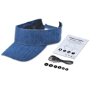 Adjustable Sun Hat Bluetooth Cap Wireless Headset Headphone Speaker SK-H110B Deep Blue