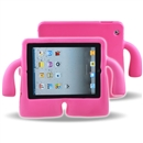 Foam Kids Shockproof Cartoon Cover Case for Tablet iPad2/3/4 rose red