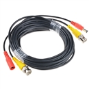 Pre-made All-in-One BNC Video and Power Cable Wire Cord with Connector for CCTV Security Camera