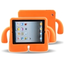 Foam Kids Shockproof Cartoon Cover Case for Tablet iPad2/3/4 orange