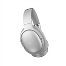 ABLEGRID Active Noise Cancelling Over Ear Wireless Bluetooth 5.0 Headphones 40mm Driver 35H Playtime White